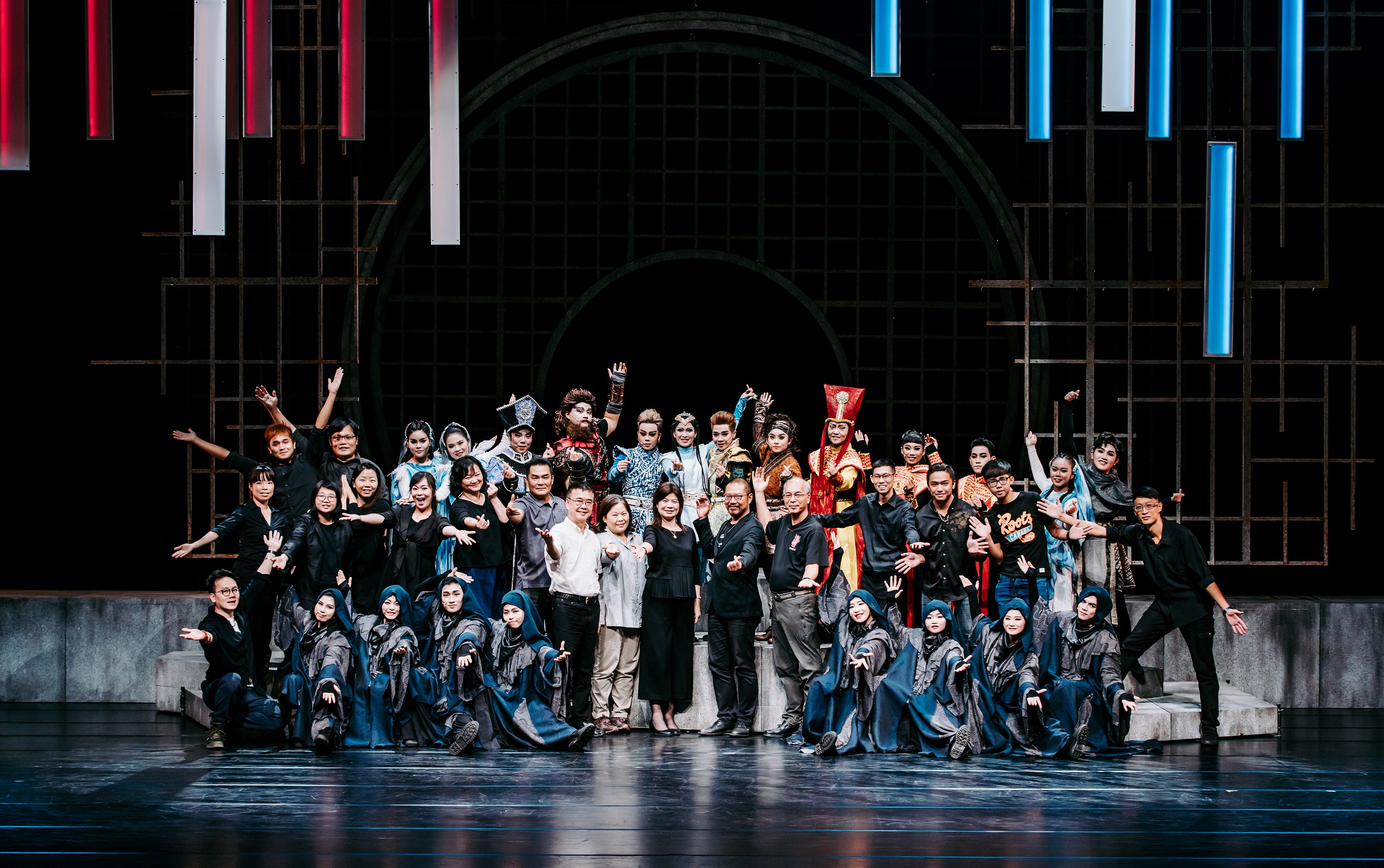 """Photo:Director Xu Bo-ang stated: """"This performance went through longer rehearsal times, involved work that was even more difficult than before, and inspected participating performers with professional standards, manifesting our efforts through the work."""
