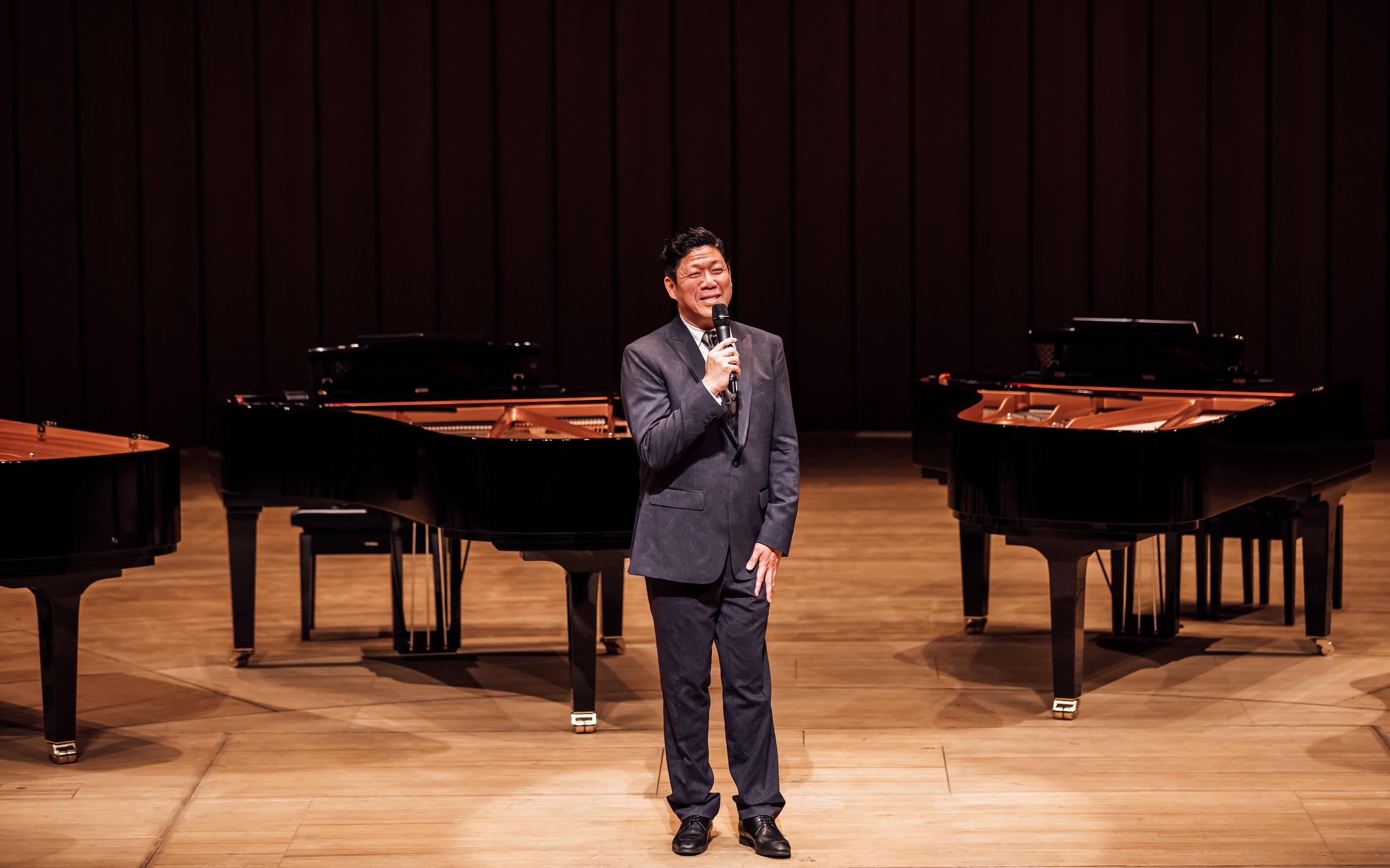 照片:鋼琴家劉孟捷