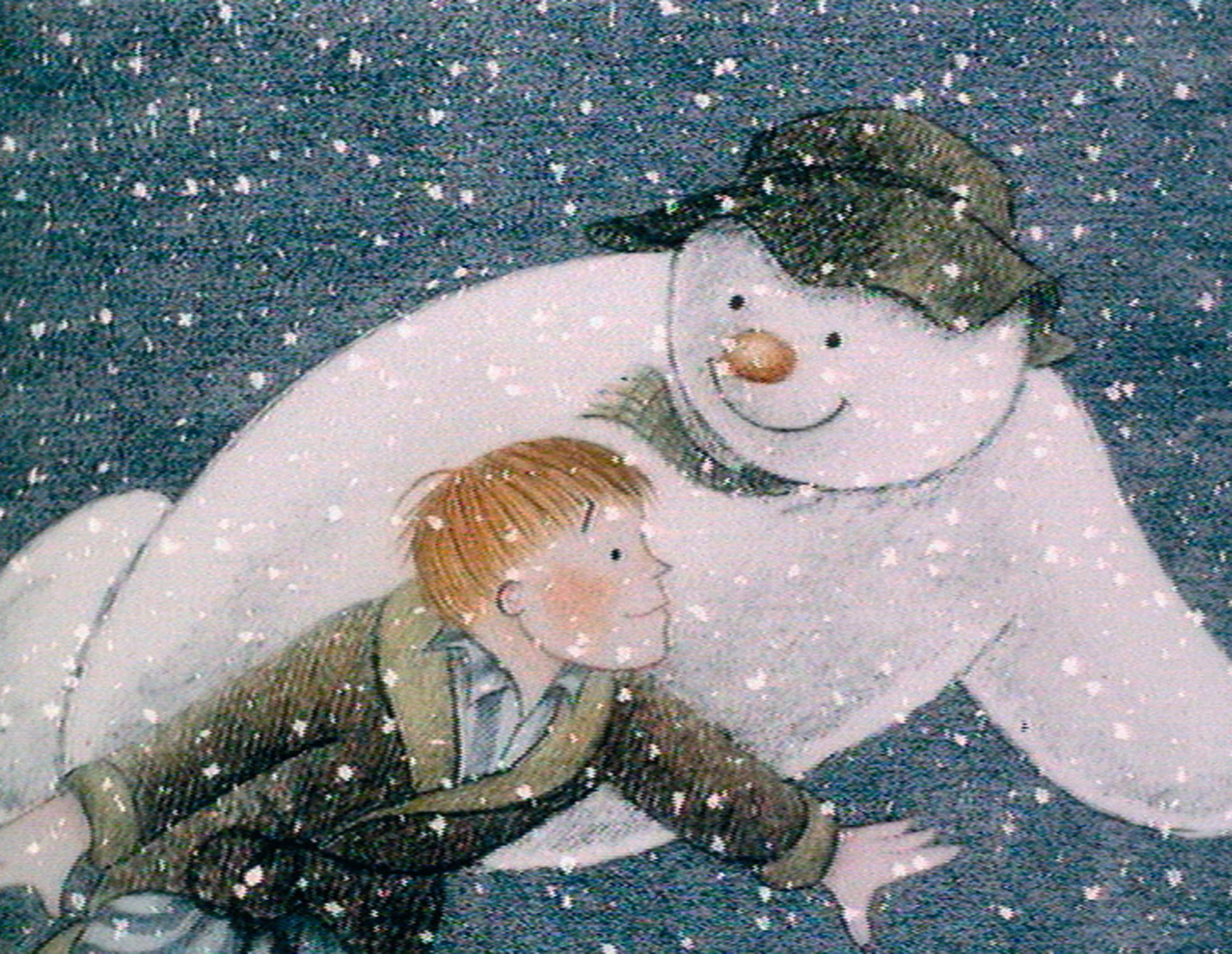 《雪人》劇照