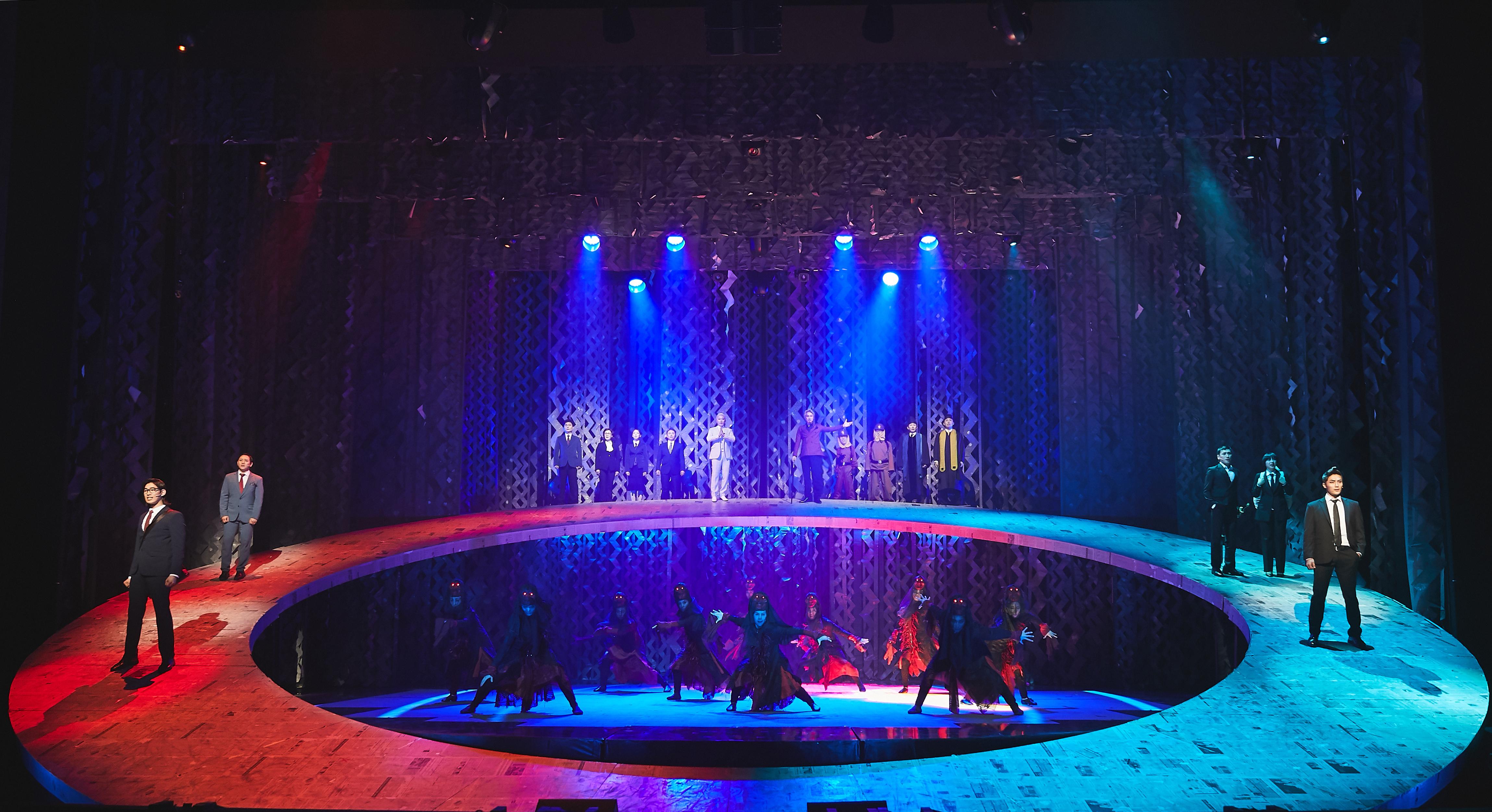 韓國原創音樂劇《與神同行》