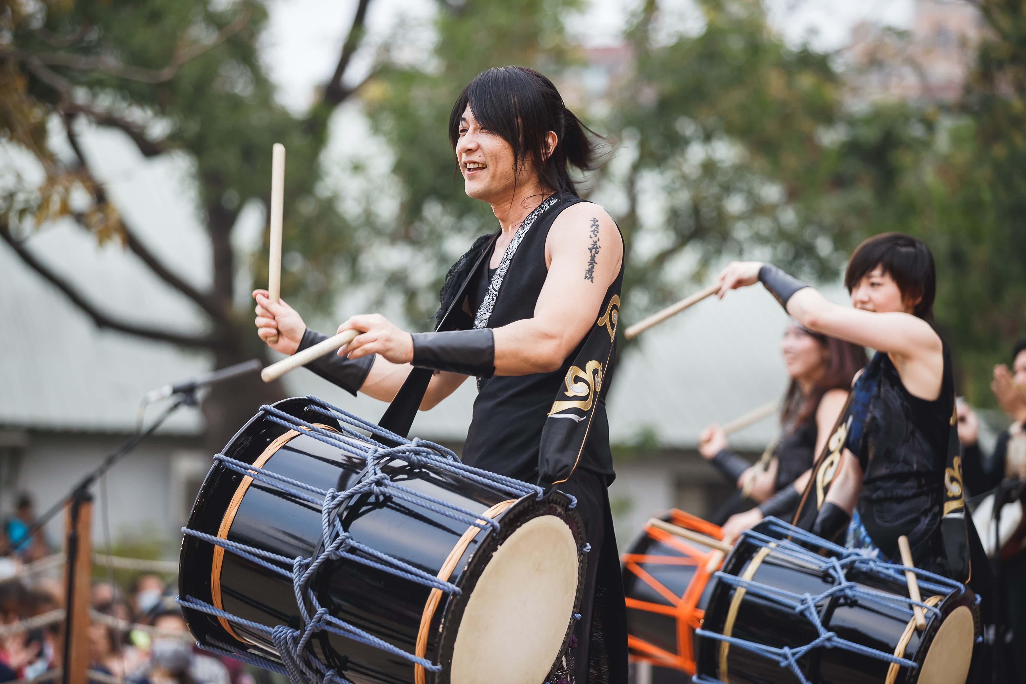 照片:和太鼓unit ICHI-DA (壱打)