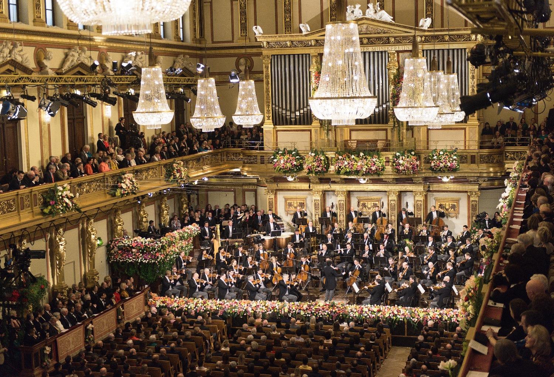 照片:維也納愛樂管弦樂團