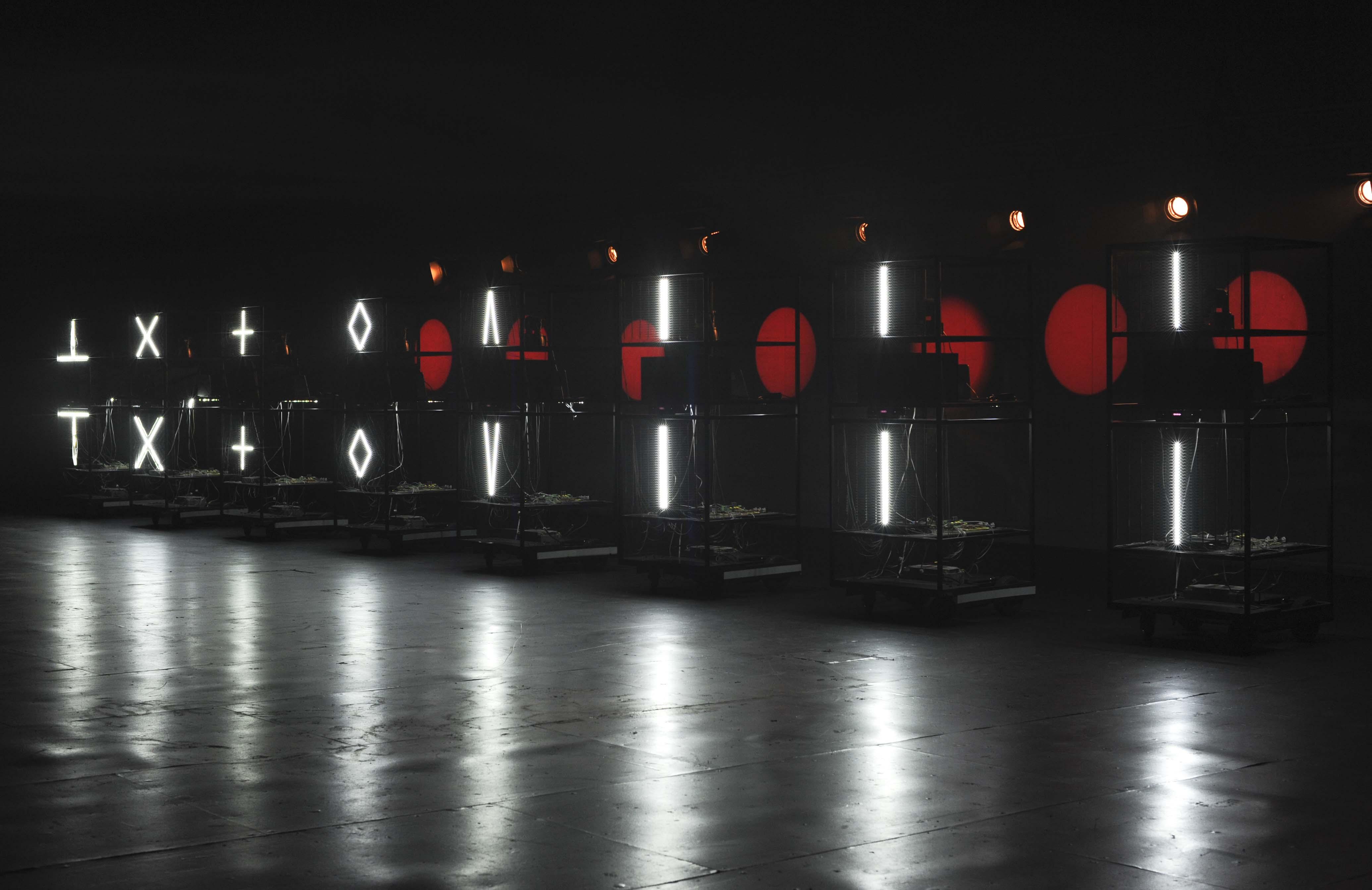 照片:《機器人歌劇》形象照
