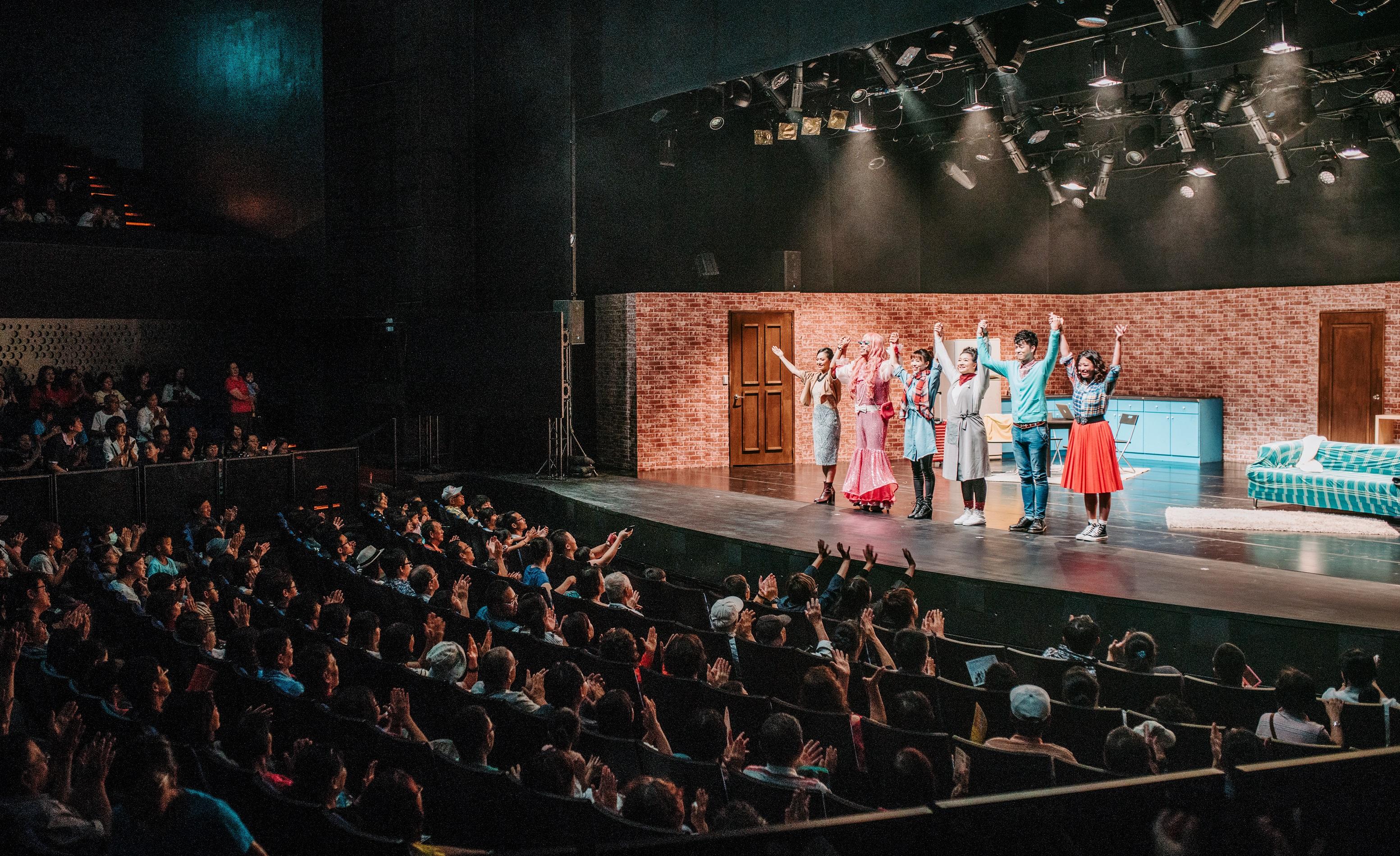 去年衛武營入厝Open House演出,吸引許多民眾到場同歡。