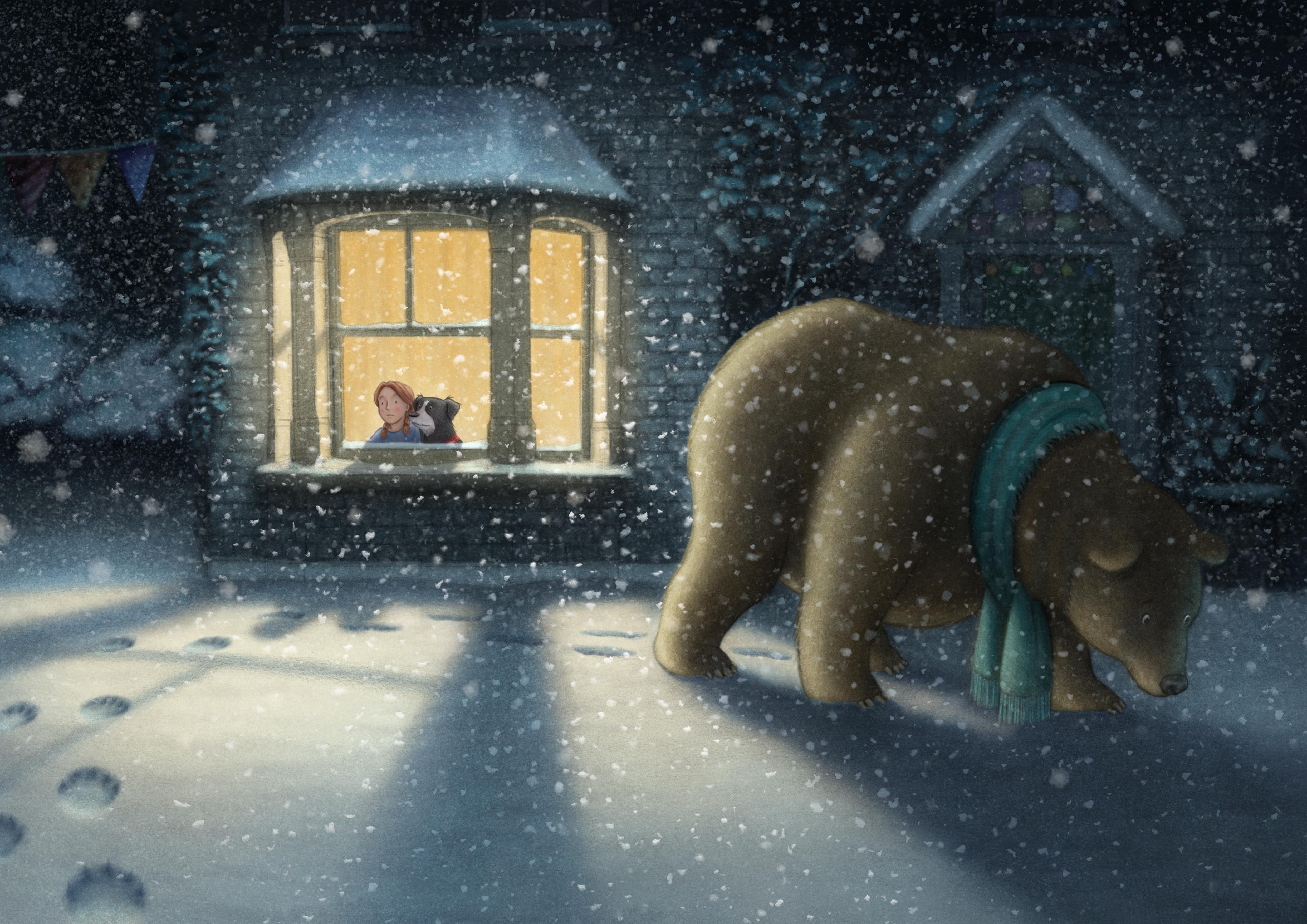 劇照:《雪人》與《我們要去捉狗熊》動畫音樂會