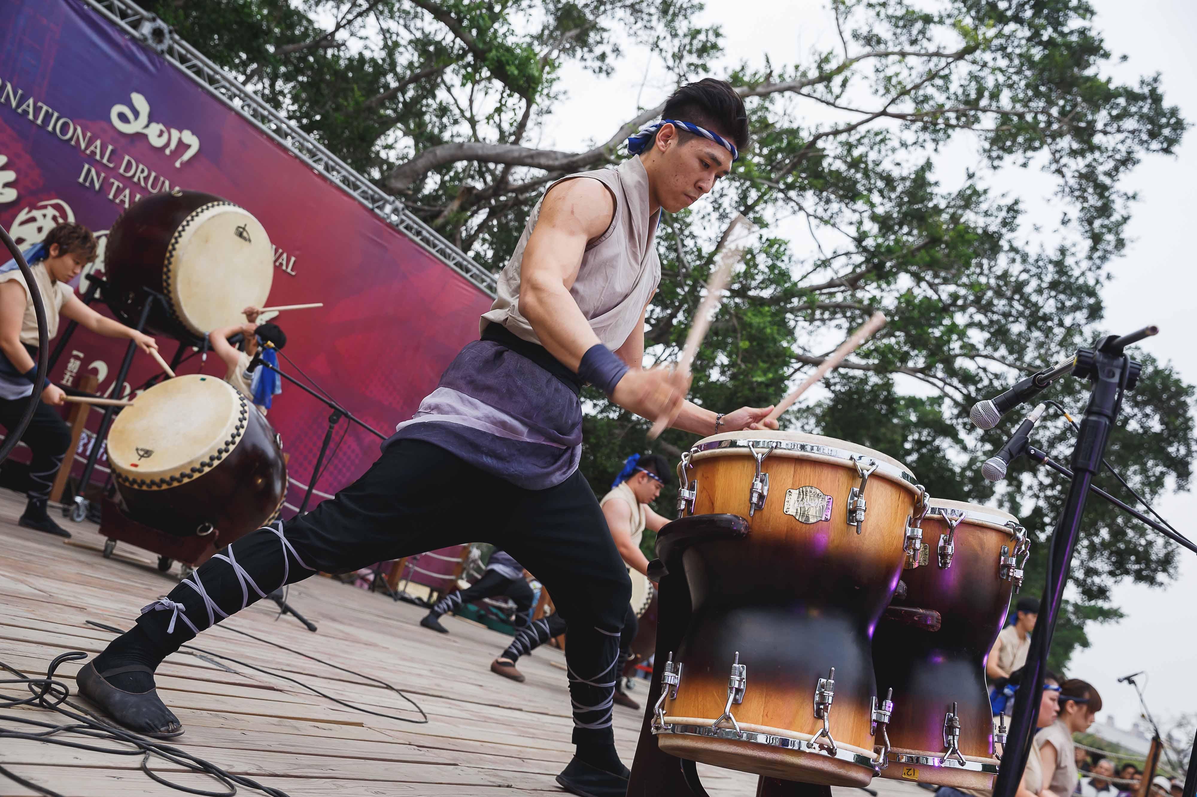 照片:十鼓擊樂團