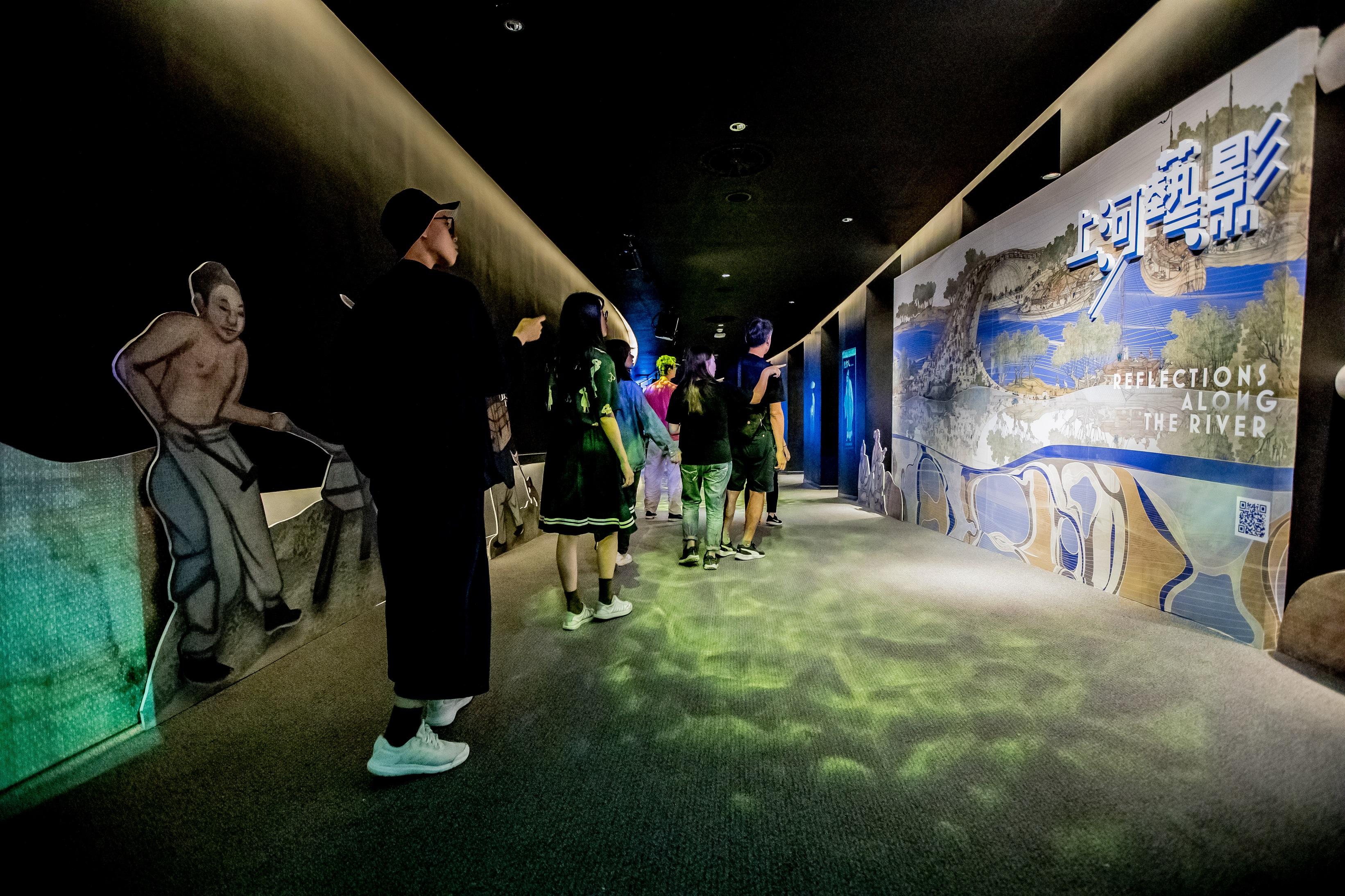 「上河藝影:故宮×衛武營新媒體藝術展」,也將持續展出至1月30日(四)結束