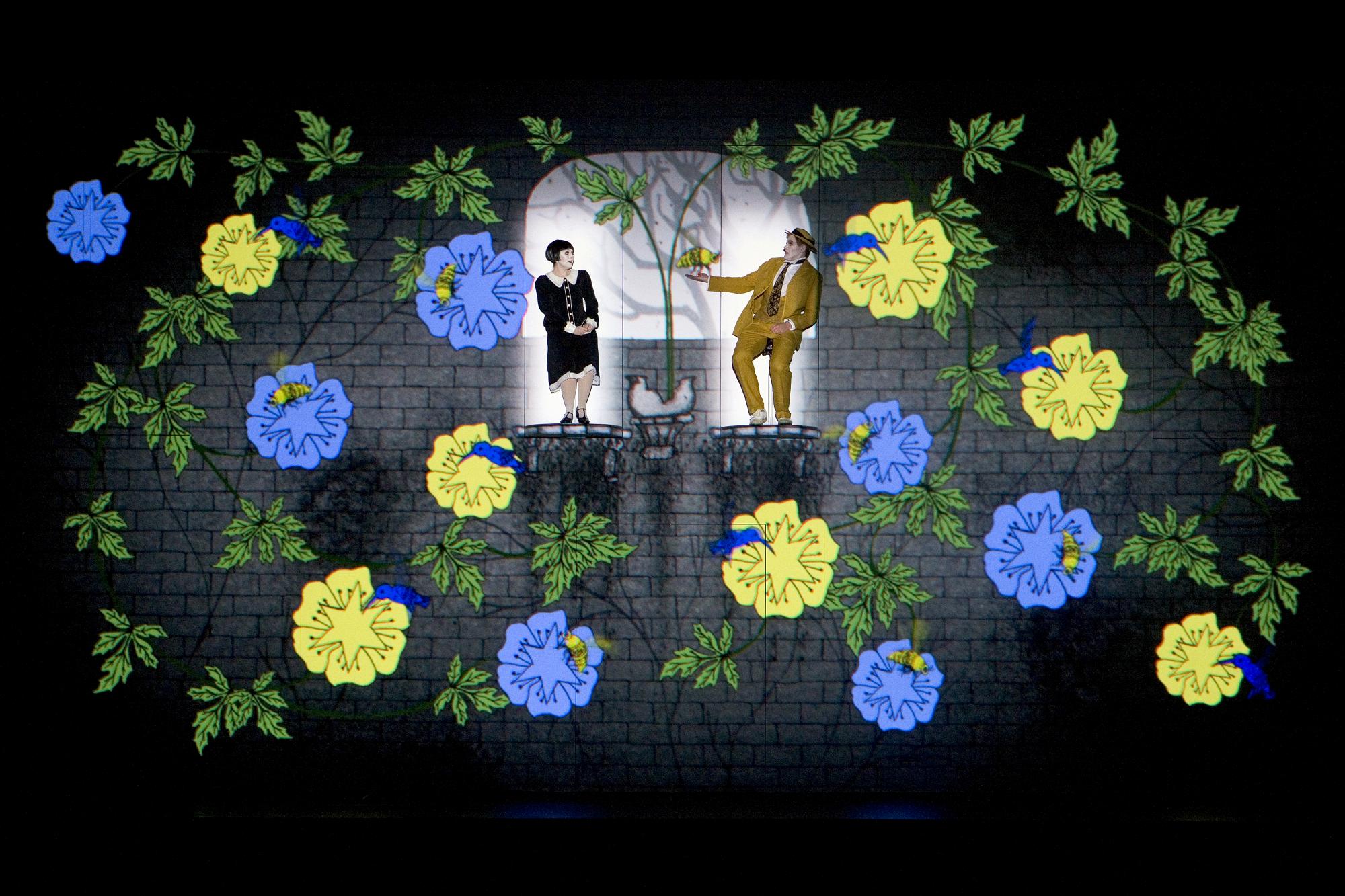 劇照:莫札特歌劇《魔笛》